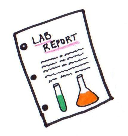 Chemistry formal lab report